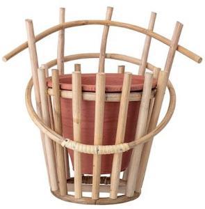 Bloomingville Krukke til Veggen Terrakotta/Bambus