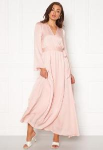 DRY LAKE Robyn Long Dress 526 Pink Pale XS