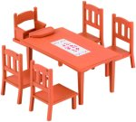 Family Table & Chairs Unisex