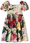 Dolce & Gabbana Floral Print Dress 8 years