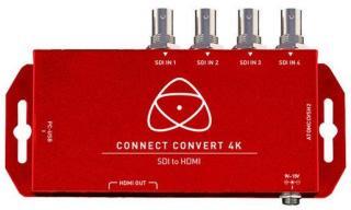 Atomos Connect Convert 4K - SDI til HDMI med scale /