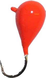 Oves Wolfram Orange (4mm) fiskekrok isfiske 4MM