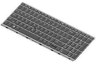 HP erstatningstastatur for bærbar PC - Fransk (L29477-051)