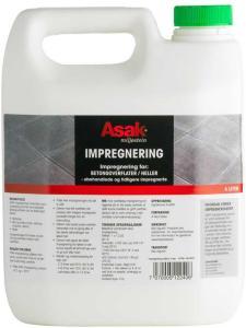 Asak Miljøstein Asak - Impregnering 4 liter