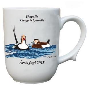 Havelle krus Årets fugl 2015