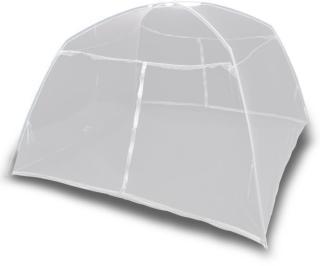 vidaXL Campingtelt 200x180x150 cm glassfiber hvit