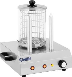 Royal Catering Pølsevarmer med 2 brødstativ - 422 W