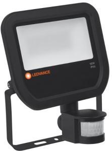 Ledvance Floodlight Projektør med sensor LED 50W/830, Sort