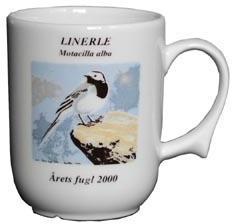 Linerle krus Årets fugl 2000