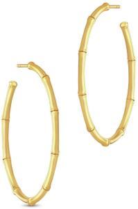 Julie Sandlau Bamboo Earring Accessories Jewellery Earrings Hoops Gull Julie Sandlau Women