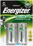 ENERGIZER Rech Power Plus C 2500 mAh (2-pack) (E300321800)