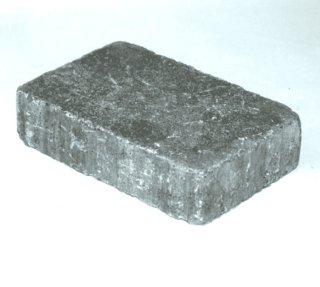 Aaltvedt Stein Rådhus belegningsstein, 5 cm, 1/1 stein, Grå. Fra Aaltvedt