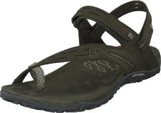 Merrell Terran Convert Ii Dusty Olive, Sko, Sandaler og Tøfler, Flate sandaler, Brun, Grønn, Dame, 39