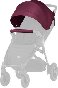 Britax B-motion 4 Plus Kalesje Kit - Wine Red Style vognen etter egen smak og stil!