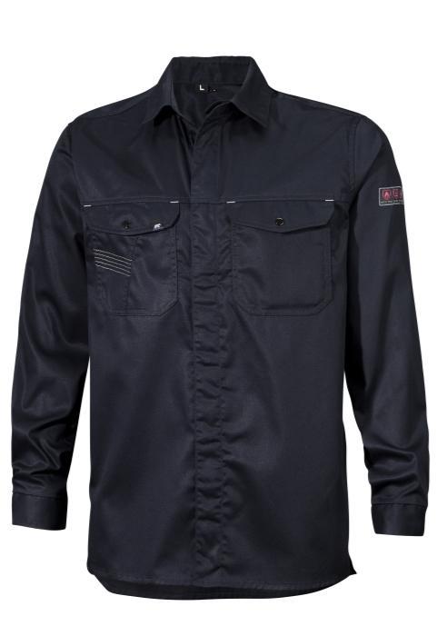 Univern Flammehemmende, antistatisk og lysbuegodkjent skjorte, 960054869 Marine
