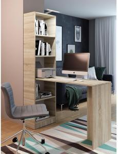 Gdeide Skrivebord 50x125 cm - Eik