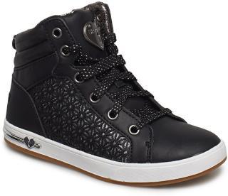 Skechers Girls Shoutouts Sneakers Sko Svart Skechers