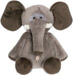 Teddykompaniet Kosedyr Elefant 30 cm Unisex