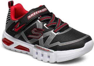 Skechers Boys Flex-Glow Sneakers Sko Svart Skechers