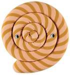 OYOY Lollipop Cushion caramel