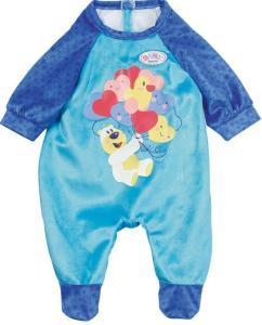 BABY Born blå romper med bamse til dukke 43 cm
