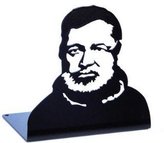 Bokstøtte Ernest Hemingway Inget (Storm)