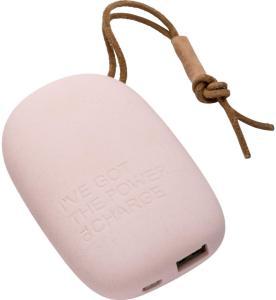 Kreafunk toCharge powerbank, pink
