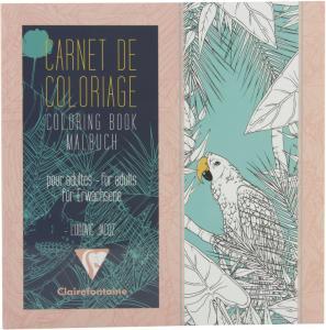 Claire Tegnebok 20x20cm 36 ark fugler 97504C (Kan sendes i brev)