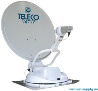 Parabolantenne Teleco FlatSat Classic Smart 85cm helautomati