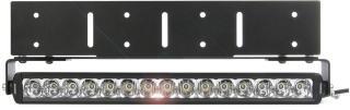 Ekstralys Purelux Road Slim - Flat / 52 cm / 75W / Ref. 30, 1 stk. - sett med justerbar holder