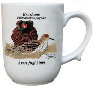 Brushane krus Årets fugl 2009