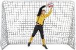 Outgame Fotballmål Unisex