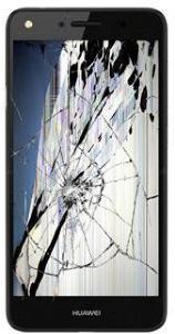 Reparasjon av Huawei Y5II LCD-display & Berøringsskjerm - Svart
