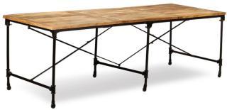 Spisebord grovt mangotre - 240 cm