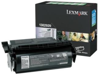 Lexmark Tonerkassett for etikettutskrift 1382929 Tilsvarer: N/A Lexmark