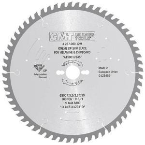 Sagblad for tre CMT 250x3,2x30,0 mm Z48 10°