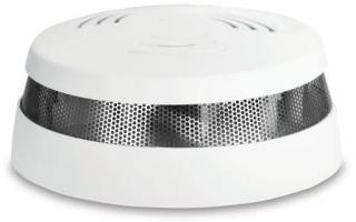 Cavius røykvarsler RF, 230V, trådløs, hvit