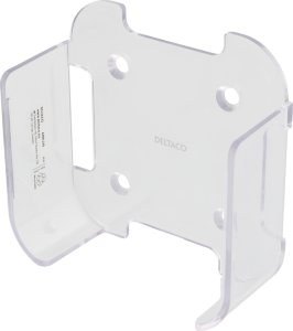 Deltaco wall mount for 4th / 5th gen Apple TV, transparent ARM-249