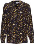 SAINT TROPEZ Woven Shirt L/S Bluse Langermet Blå SAINT TROPEZ