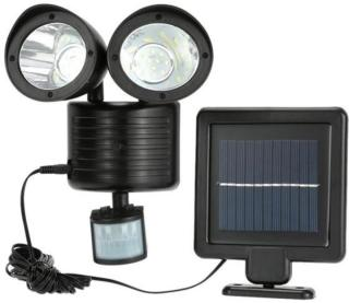 Solcellebelysning Dual Spotlight 6W