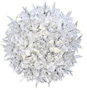 Bloom CW2 Vegglampe/Taklampe Crystal - Kartell