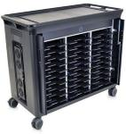 HP 30-Notebook Managed Charging Cart - Vogn for 30 notebooker - for EliteBook 840 G1, 8770; EliteBook Folio 1040 G1; ProBook 450 G2, 650 G1; ZBook 15, 17 (QL490AA#ABB)