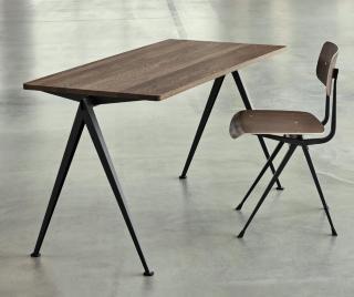Pyramid Skrivebord Svart/Røkt Eik Hay