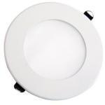V-Tac V-Tac 8W LED panel downlight - Hull: Ø12,5 cm, Mål: Ø14,5 cm, uten driver - Lysfarge : Varm, Dimbar : Nei