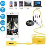 Trådløst Inspeksjonskamera 1200P HD WiFi Endoskop8 LED - 2 Meter