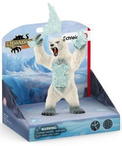 Schleich Snøstormbjørn med våpen