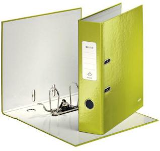 LEITZ Binder Lever Arch File 180 WOW POB A4/80mm Green (1005-00-64*10)