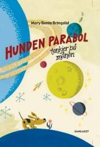 Hunden Parabol tenkjer på månen