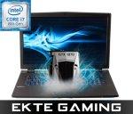 Multicom P751TM1-G-,FHD-144Hz,Intel Core  i7-8700, 500GB SSD, 32GB DDR 4, 2x 970 EVO 250GB SSD, KILLER1550, Uten operativsystem (PC-408)
