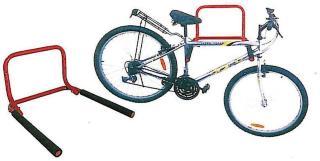 Sykkelstativ til vegg for 2 sykler